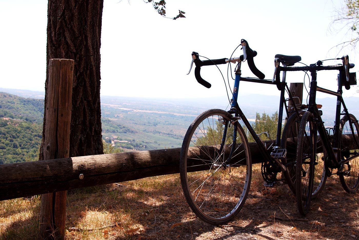 bici in agriturismo